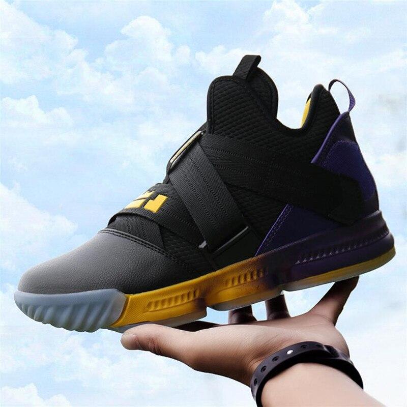 Qualité supérieure Hommes Jordan chaussures de Basket Air Amortissement Rouge/Noir Anti-dérapage baskets respirantes Formateurs bottes d'extérieur Panier Homme