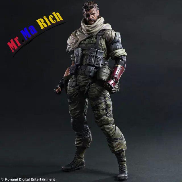 Playarts KAI Metal Gear Solid V The Phantom Venom Snake PA Kai Figure Collectible Model Toy with box playarts kai god of war kratos pa kai figure collectible model toy with box