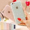 5S sí fresca encantadora del silicio caso bling del polvo de la cubierta mate para apple iphone 5 5s 5g bolso de las mujeres de señora girl de shell del teléfono para el iphone 5S