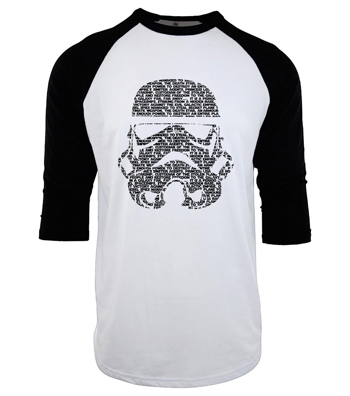 2019 fashion raglan star wars fitness camisetas mma  funny men's T-shirts Cotton punk three-quarter sleeve tee shirt homme