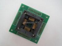 Opentop 100% Novo & Original 7012-080-4-08 QFP80/TQFP80/LQFP80 assento Queimando IC adaptador de assento de teste Socket Test test bench