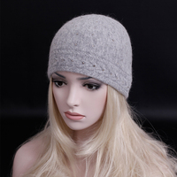 11 11 Sales Promotion Winter Fashion Brand Thick Wool Knitted Cap For Women Casual Skullies Beanies