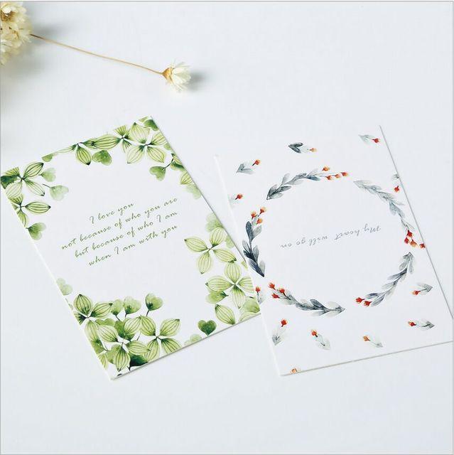Aliexpress.com : Buy 28Pcs/Pack Blossoming Flower Love Letter LOMO ...