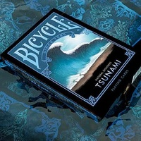 Bicycle Natural Disasters Tsunami Playing Cards Collectable Poker USPCC Limited Edition Deck Magic Cards Magic Tricks