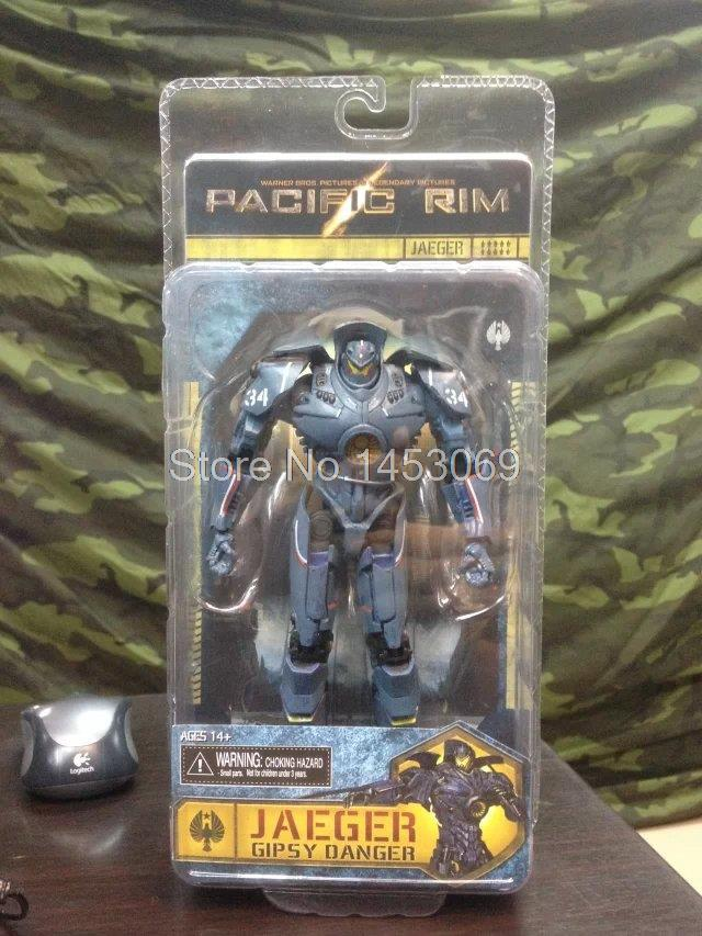 7 18CM NECA Pacific Rim Gipsy Danger PVC Action Figure Collectible Model Toy WF033