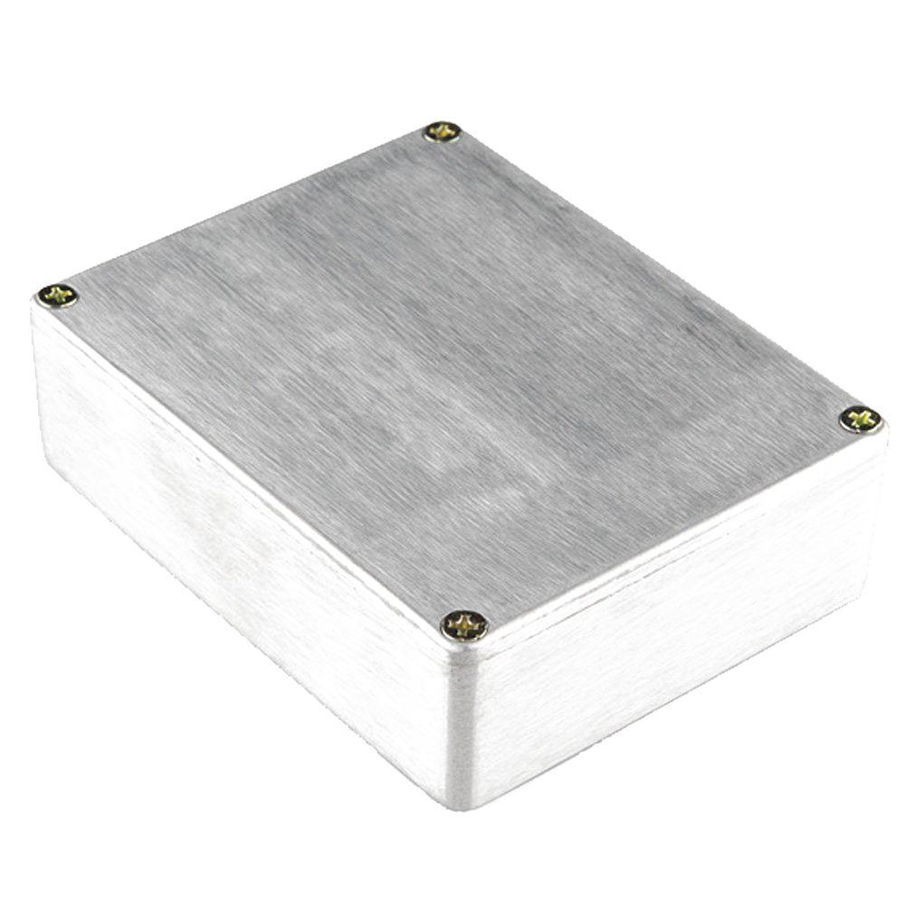 1590BB Aluminum Metal Stomp Box Case Enclosure Guitar Effect Pedal Pack of 3 klon centaur silver professional overdrive guitar effect pedal kit stomp box