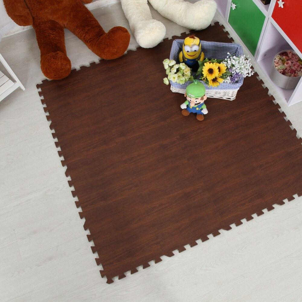 Meitoku-Soft-EVA-Foam-puzzle-crawling-mat10pcs-wood-interlock-floor-tileswaterproof-rug-for-kidsliving-roomgym-Each30X30cm-3