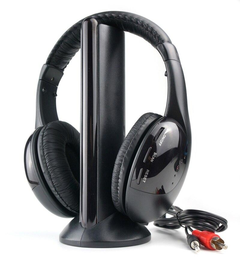 Casque audio stéréo sans fil 5in1 de marque SOLDE 3