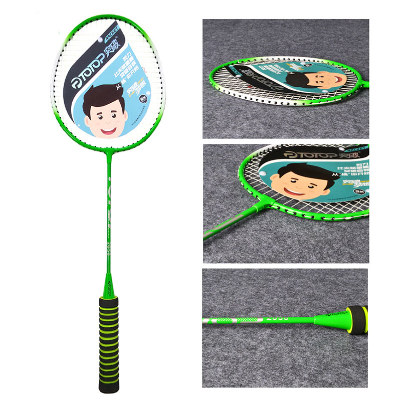 Professional Badminton Racket School Ferroalloy Sporting Goods Lightweight Nylon Sports