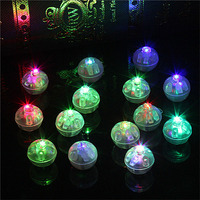 Round mini led light Balloon Lights luminous balls party led Flash Lamp For Christmas halloween Wedding Decoration 500~8000pcs