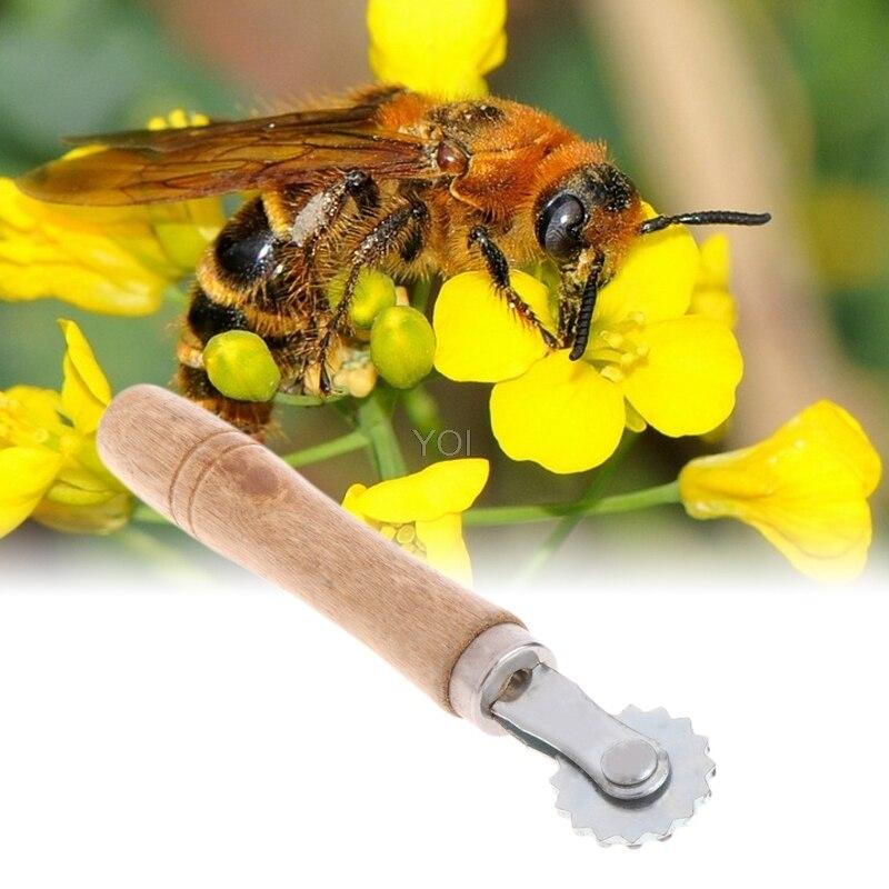 Хорошее качество 1 шт. Пчеловодство Embedder колесо шестерня шпора проволока нержавеющая сталь улей пчеловод инструмент оборудование