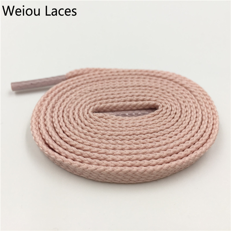Weiou 7mm Flat Tubular Shoelace Styles Athletic Sports Sneakers Bootlace Multi Color Polyester Shoestring For Sneakers Boots pz0 5 16 0 5 16mm2 crimping tool bootlace ferrule crimper and 1k 12 awg en4012 bare bootlace wire ferrules