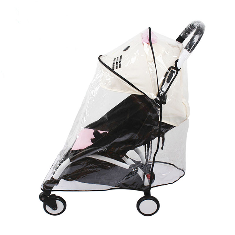 Baby Stroller Rain Cover Original Accessories Universal Type Suitable For Most Baby Strollers Yoya PLUS Yoyo Yoya Babysing