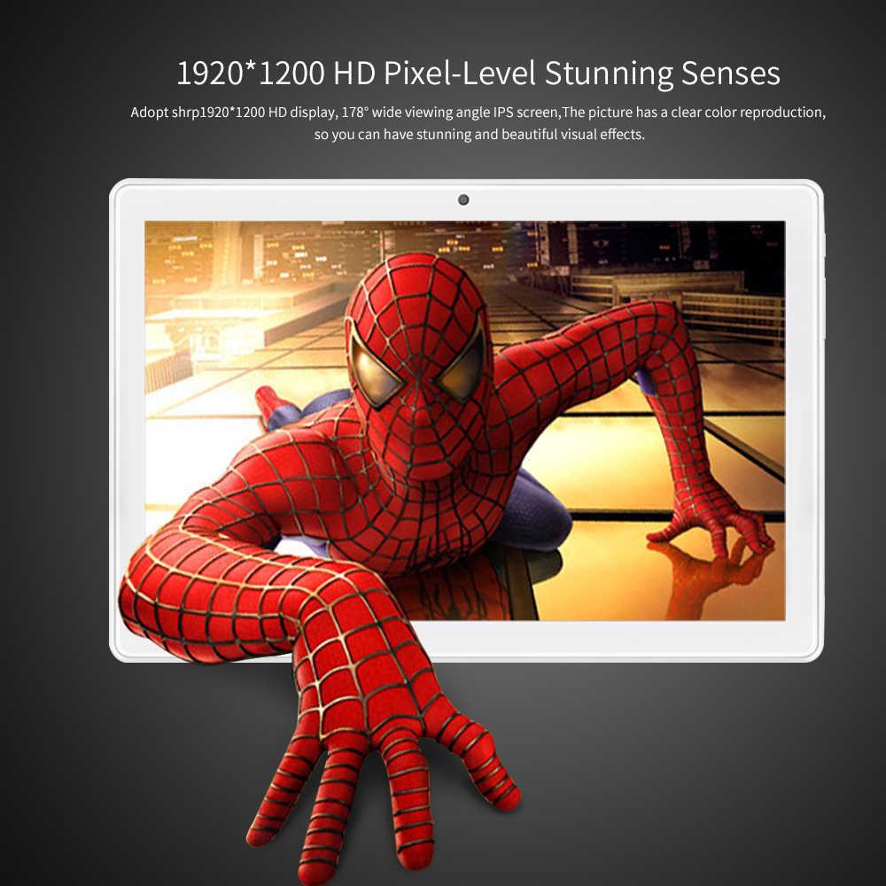 ANRY X20 tablet Pc Deca Core RAM 8GB ROM 128GB Android 9,0*1900*1200 IPS 4G lte teléfono llamada Wifi GPS Bluetooth 10,1 pulgadas Dual SIM
