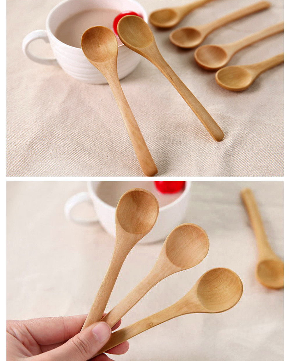 Aliexpress Com Buy 6pcs Set Bamboo Utensil Kitchen