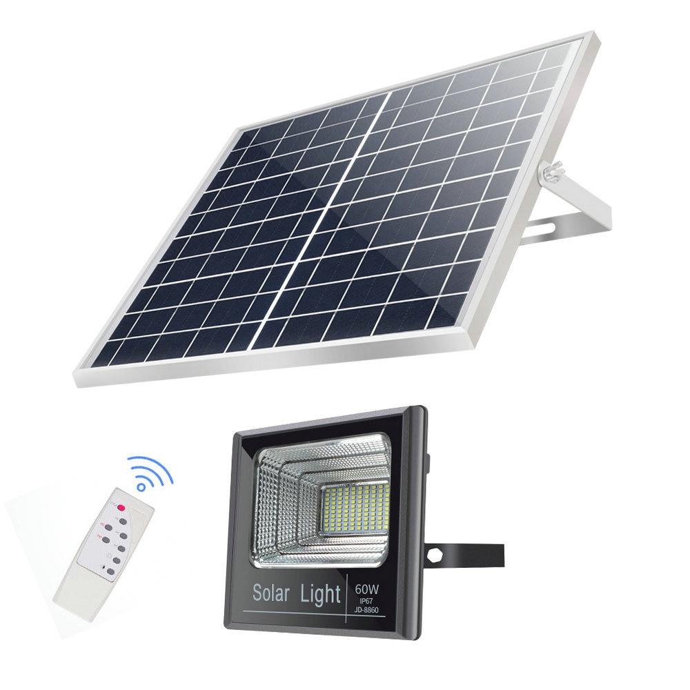 IP65 à prova d' água Sem Fio Levou Sensor de Energia Solar Jardim Holofote Holofotes Lâmpada Luz de Rua para o Exterior Ao Ar Livre