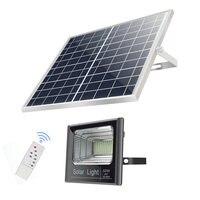 Waterproof IP65 Wireless Led Solar Power Energy Sensor Garden Spotlight Floodlight Street Light Lamp for Exterior Outdoor