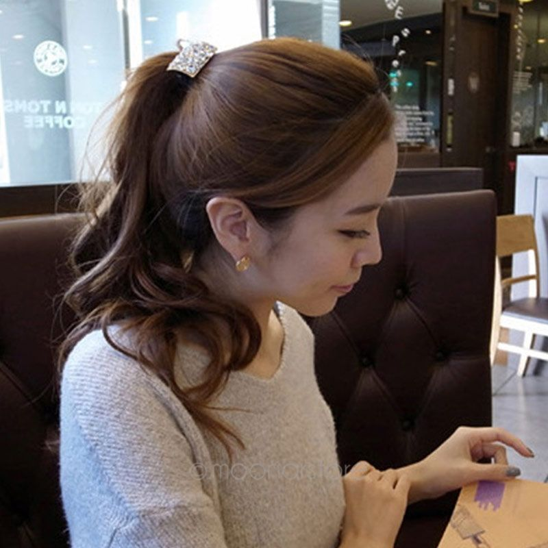 b8ed481a89a 1pc Colorful Square Rhinestone Headband Hair Band Women Girls Flowers  Headbands Hair Accessories Headwear-in Hair Accessories from Women s  Clothing ...