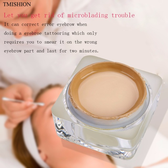 Pro Semi Permanent Makeup Eyebrow Tattoo Color Remover Gel Eyebrow