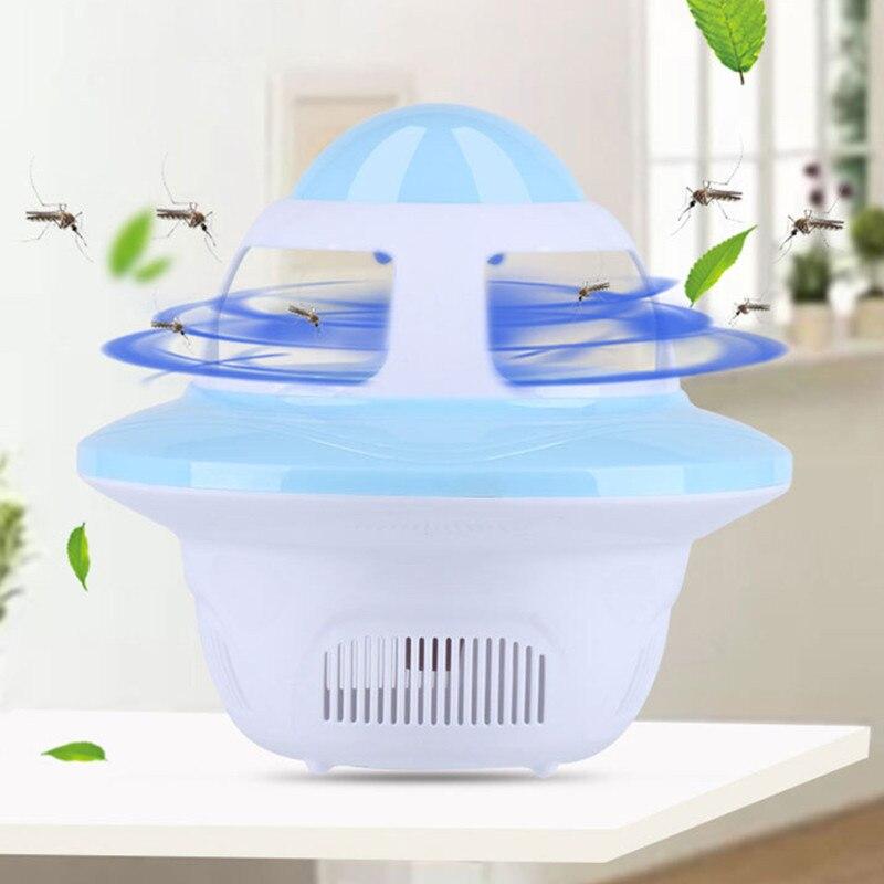 Moustique tueur USB électrique moustique tueur lampe photocatalyse muet maison LED bug zapper piège à insectes sans rayonnement