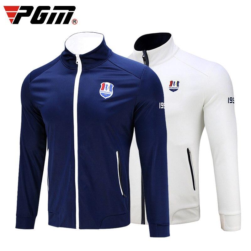 Pgm Men Golf Waterproof Jacket Golf Apparel Sport Coat For Men Windbreaker Jacket Windproof Golf Sportswear Clothes D0577