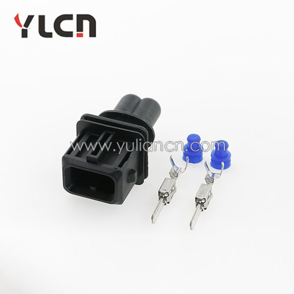 Free Shipping 5 Sets Tyco/amp 2 Pin Auto Connector EV1 Fuel Injector Connector 106462-1 цена 2016