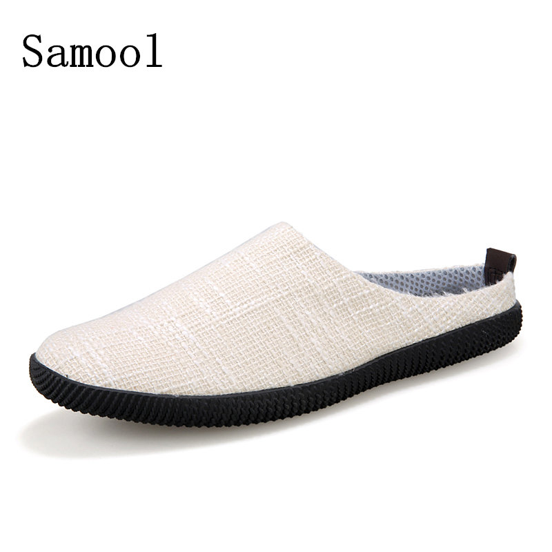 2018 Men Home Slippers Shoes Solid Winter Woolen Wrap Toe Footwear Classic Style Home Shoes For Men Cottonfabric TPR Slipper fx2