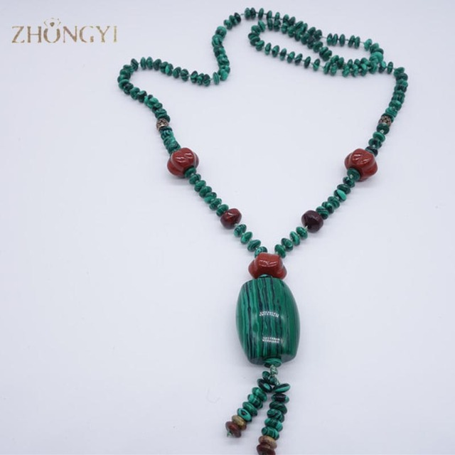 New snap jewelry sweater chains necklace malachite charms pendants new snap jewelry sweater chains necklace malachite charms pendants for chakra necklace 25 inch long spring aloadofball Choice Image