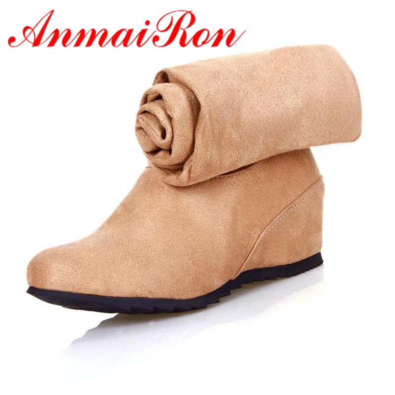 ANMAIRON Boots Shoes font b Women b font fashion worn thin diamond three knee boots Black