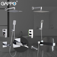 GAPPO Bathtub Faucets bathroom tap bath faucet mixer rainfall shower faucets shower taps bathtub faucet bathroom shower set недорого