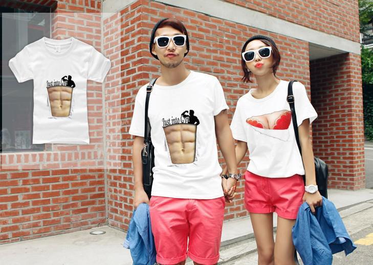 Funny shirts T shirt ideas creative t shirt Fake tops Bra printed t ...