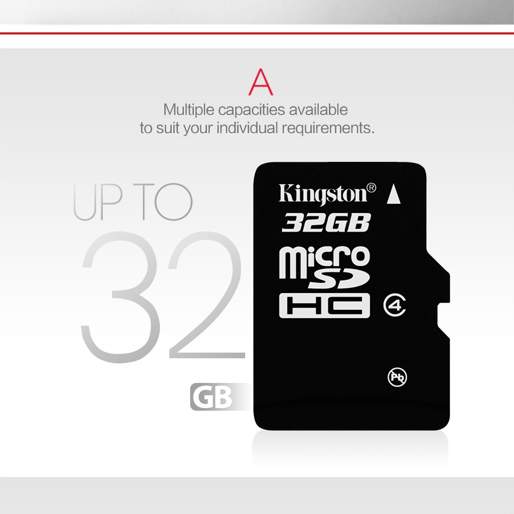 Kingston microSD card Digital 16 GB 32 GB Class 4 microSDHC Flash Card (SDC4/16GBET SDC4/32GBET) 11