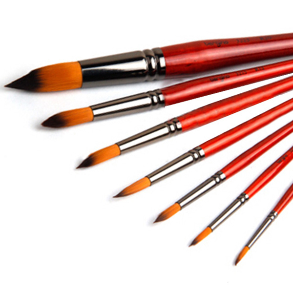 drawing tools homemade 7pcsset painting brush oil acrylic watercolor gouache art supplies drawing tools for school