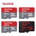 100% Оригинал Sandisk Карта Micro Sd Class10 TF card16gb 32 ГБ 64 ГБ 128 ГБ 80 МБ/с. карты памяти для samrtphone и настольный ПК