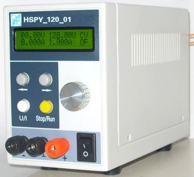 Fast arrival HSPY-120V1A The DCprogrammable power supply output of 0-120V,0-1A adjustable RS232 port цены