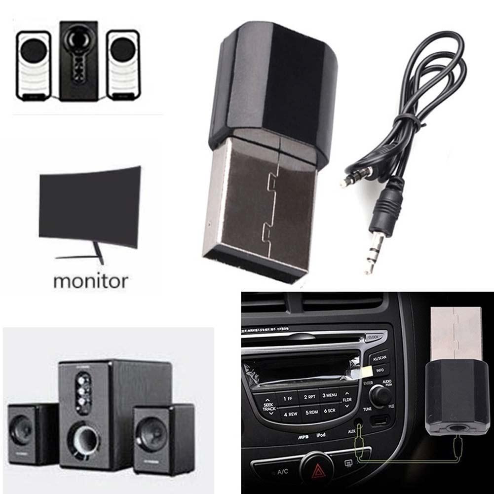 Wireless USB AUX Bluetooth Car Bluetooth Mini Bluetooth Receiver Adapter Music Wireless Speakers Audio Free Shipping
