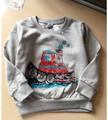 YGRa2228 2017 Spring Fashion Baby Boy Top Solid Print Track Toddler Boy Pullover Casual Boy T Shirt Children Clothes