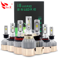Amazing Output Advanced New Beam Technology Car Headlight H7 LED H7 Bulb Auto Front Fog Drl