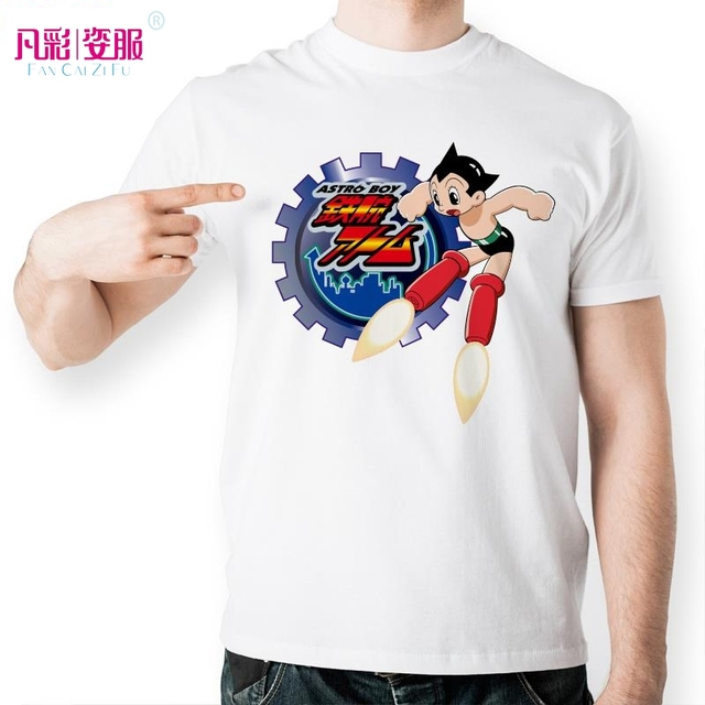Cool Astro Boy Gear T Shirt Design Inspired By Japanese Anime T-shirt Fashion Funny Tshirt Men Women Printed Casual Novelty Tee