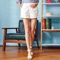 Veri gude 2017 mujeres shorts solid material de grosor medio 100% Encendido Flojo de algodón de la Nueva Llegada Para El Regalo de La Muchacha de Primavera Y verano
