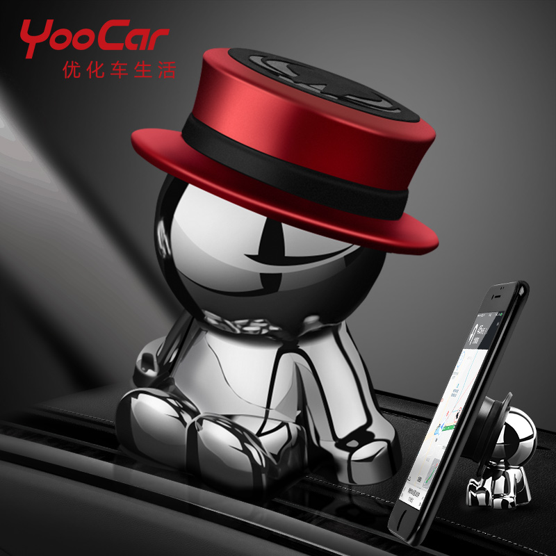 Magnetic Dashboard Cell Mobile Phone Holder Car GPS PDA Mount Holder Universal Car Holder For Smart 451 Smart 453 Fortwo Forfour