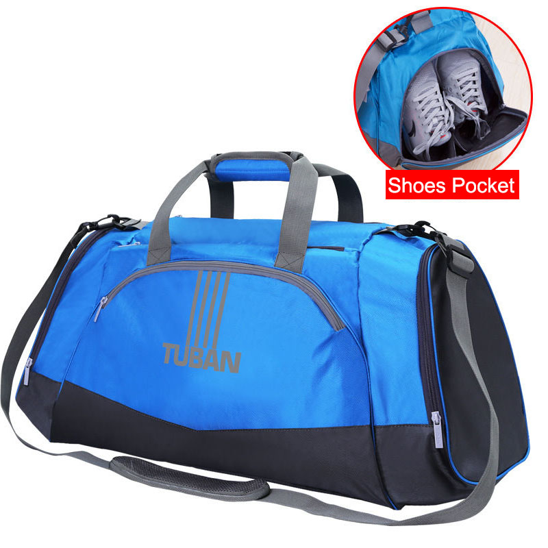 Dry Wet Gym Bags Travel Swimming Shoulder Bag Handbags Outdoor Sports Shoulder Bag For Men Large Fitness Training Shoes XA406WA durable gym bag travel outdoor shoulder bags handbag sports bags fitness men crossbody large for shoes pocket waterproof xa388wa
