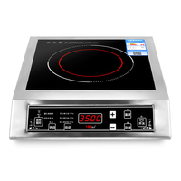 High power electromagnetic oven 3500W commercial induction cooker stir household electromagnetic stove canteen