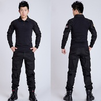 Men Outdoor Frog Suit Army Military Uniform Tactical BDU Navy Combat CS Sets Shirt Pants Multicam