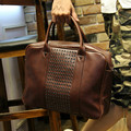 Tidog Crazy horse leather shoulder bag men travel laptop bag men fashion business bag
