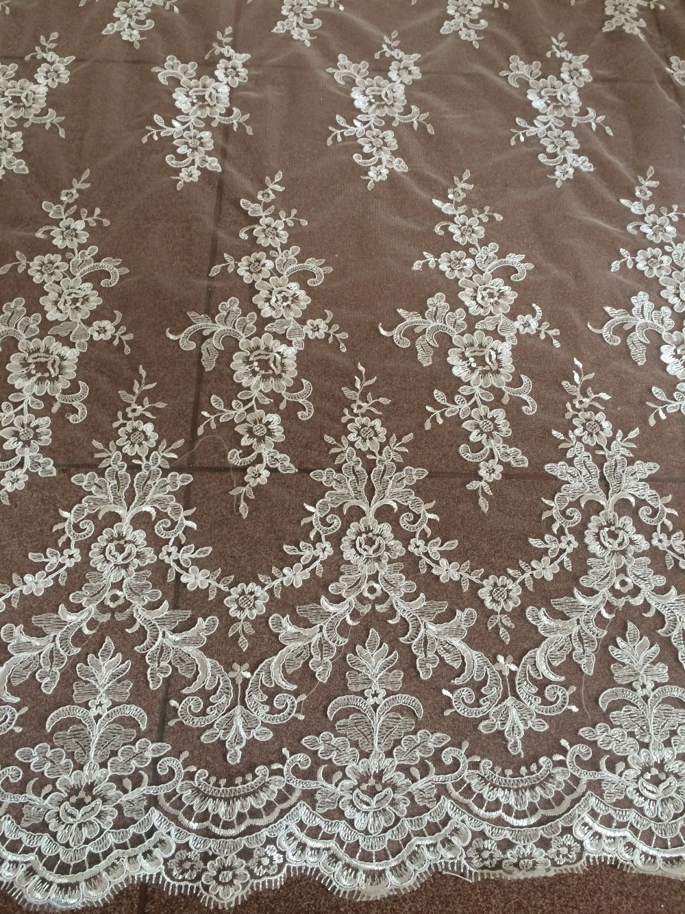 Free shipping LJY 32511 african lace fabric french guipure lace fabric new arrival tulle lace fabric