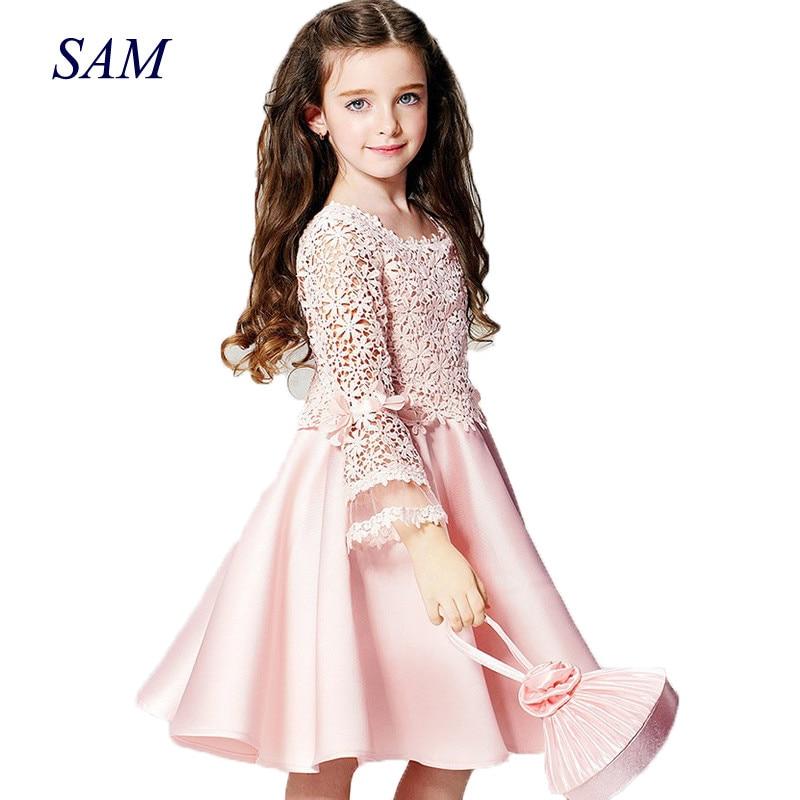 2019 poletje novo visoko kakovostno modno cvetje dekle princesa - Otroška oblačila