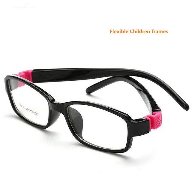 2b4d3a66fe Cute Acetato Rubber Kids Glasses Frame Flexible Spectacles Children Frames  Eyewear TR90 Optical Glass 8813 Oculos De Grau