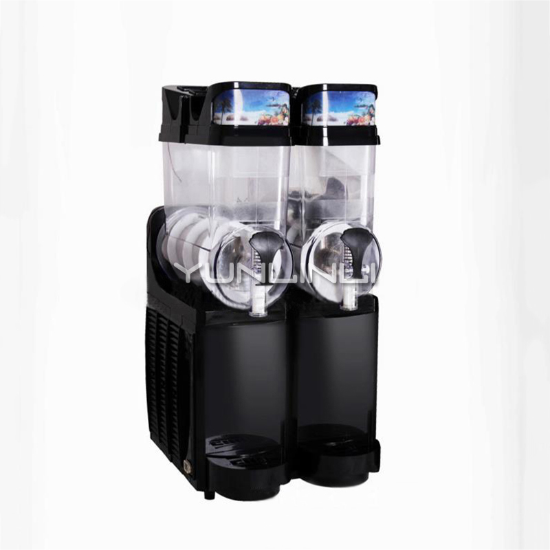 30L Double-tank Ice Drink Blender Commercial Smoothie Maker Commercial Slush Making Machine TKX-02 цена и фото