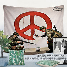 Classic Movie\Rock Band\Creative Pattern Flag Banner Cloth Art Retro Poster Tapestry Wall Sticker Hanging Painting Indoor Decor(China)